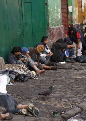 habitante calle